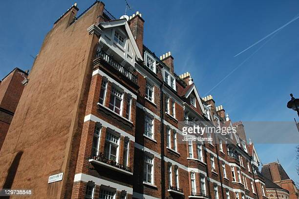 Hanover Buildings tenements , Binney Street W1, Mayfair, London. Now the Peabody Trust Hanover Flats