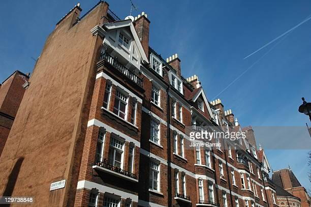 Hanover Buildings tenements Binney Street W1 Mayfair London Now the Peabody Trust Hanover Flats