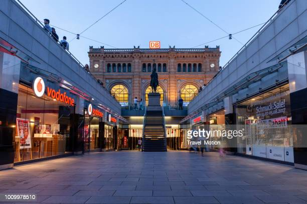 hannover hauptbahnhof - hanover germany stock pictures, royalty-free photos & images