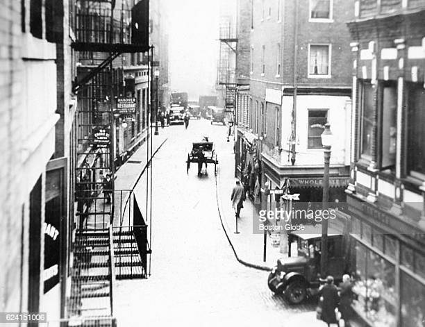 Hanover Street in the North End of Boston circa 1920's