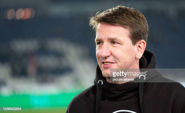 Hanover's coach Daniel Stendel photographed before the 2nd Bundesliga soccer match between Hanover 96 and VfL Bochum at the HDIArena inHanover...