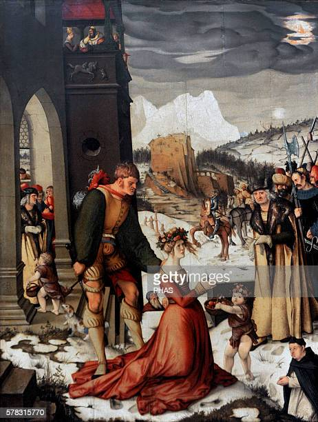 Hans Baldung German painter Beheading of St Dorothea 1516 National Gallery Prague Czech Republic