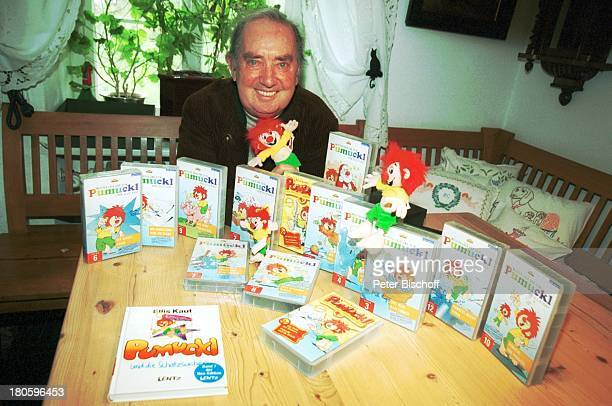 Hans Clarin Homestory anlaeßlich 40 Jahre Synchronstimme von Pumuckl Aschau/Chiemgau Moserhof Buch VideoKasetten CDœs Kobold KoboldFiguren
