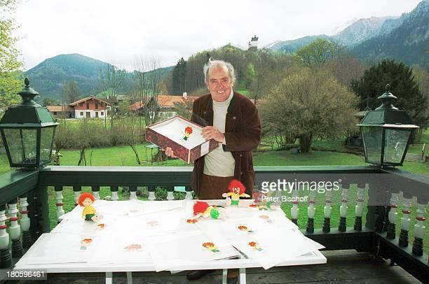 Hans Clarin Homestory anlaeßlich 40 Jahre Synchronstimme von Pumuckl Aschau/Chiemgau Moserhof Folien aus dem TrickfilmStudio Kobold KoboldFiguren