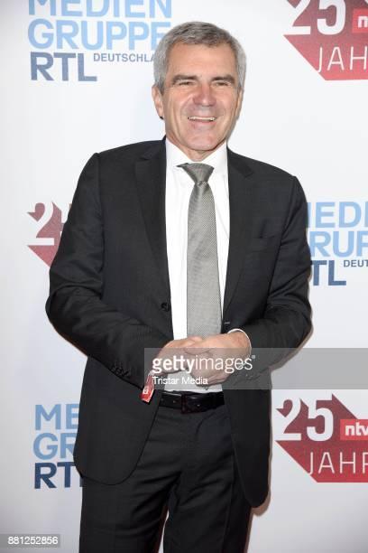 Hans Demmel attends the 25 years anniversary ntv event at Bertelsmann Repraesentanz on November 28 2017 in Berlin Germany