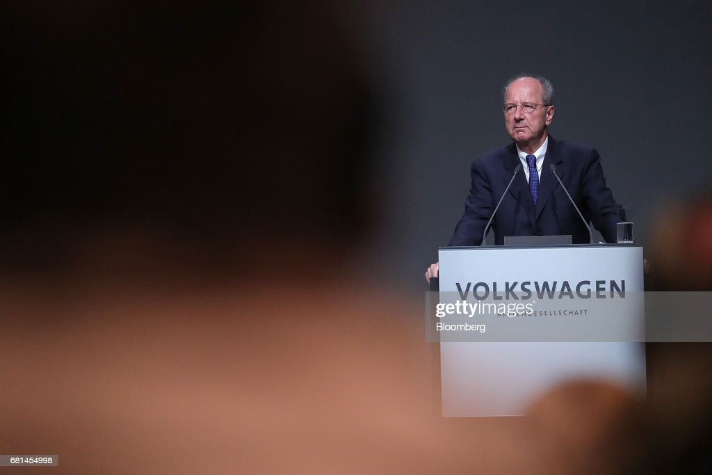 Volkswagen AG Annual Shareholders' Meeting As Post Emission Scandal Turnaround Takes Hold