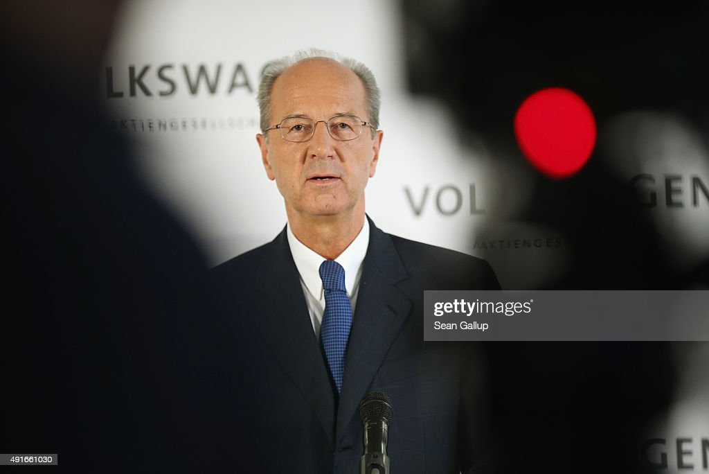 Volkswagen Elects New Supervisory Board Chairman : News Photo