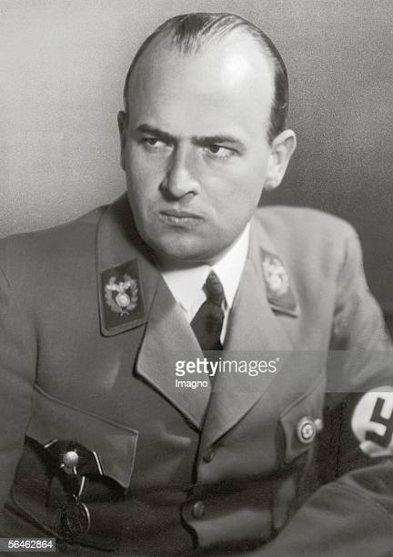 Hans Frank national socialist politician minister of the Reich from 1934 to 1945 general governor in Poland from 193945 sentenced to death by the...