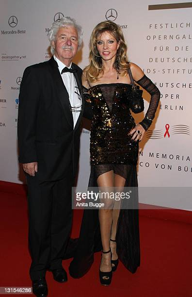 Hans Georg Muth and Gisela Muth attend the '18th Festliche Operngala Fuer Die AidsStiftung' at Deutsche Oper Berlin on November 5 2011 in Berlin...