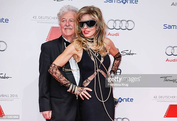 Hans Georg Muth and Gisela Muth attend the German Film Ball 2015 on January 17, 2015 in Munich, Germany.