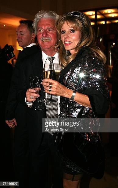 Hans Georg Muth and his wife Gisela attend the grand opening of the Charles Hotel on October 22 2007 in Munich Germany