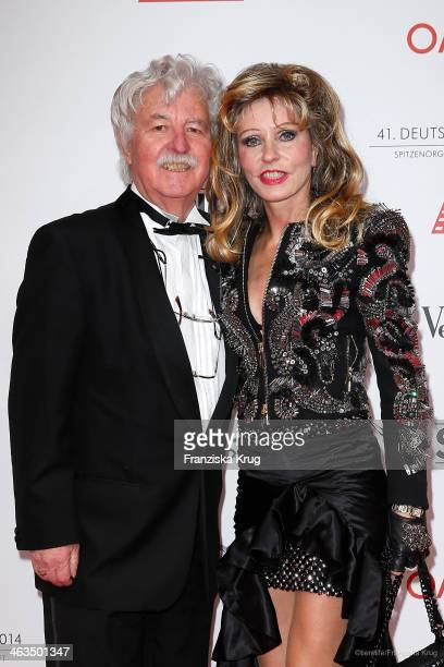 Hans Georg Muth and his wife Gisela Muth attend the German Film Ball 2014 on January 18 2014 in Munich Germany