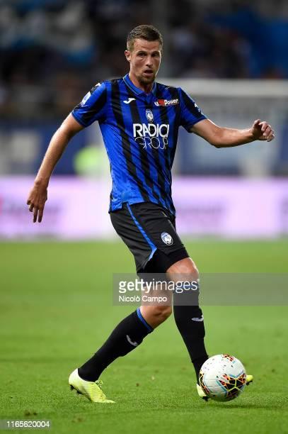 Hans Hateboer of Atalanta BC in action during the Serie A football match between Atalanta BC and Torino FC Torino FC won 32 over Atalanta BC