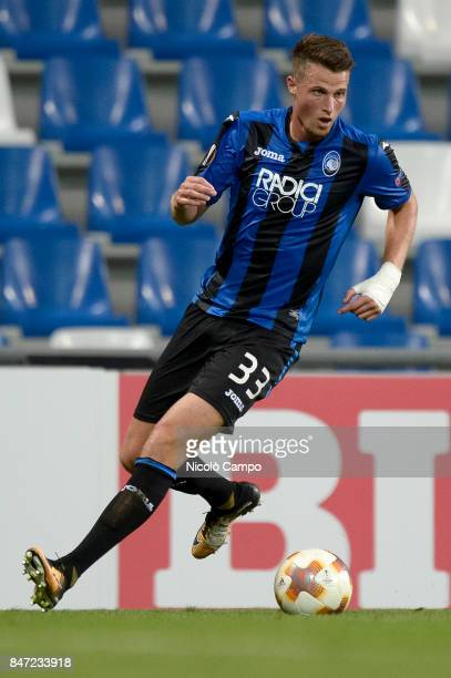 Hans Hateboer of Atalanta BC in action during the UEFA Europa League group E football match between Atalanta BC and Everton FC Atalanta BC wins 30...