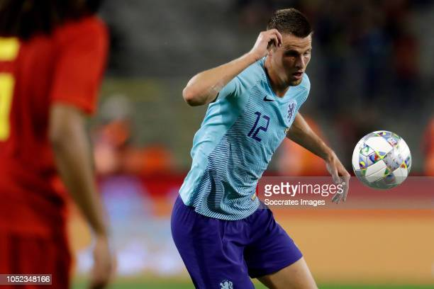 Hans Hateboer of Holland during the International Friendly match between Belgium v Holland on October 16 2018