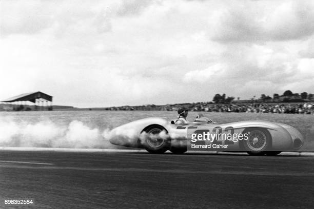 Hans Herrmann Mercedes W196 Grand Prix of France ReimsGueux 04 July 1954
