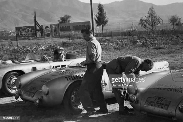Hans Herrmann Porsche 550 Spyder Carrera Panamericana Mexico 23 November 1953