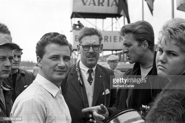Hans Herrmann Wolfgang Von Trips Grand Prix of Germany Nurburgring 05 August 1956 Hans Herrmann winner of the Rheinland Nürburgring Sports Car race...