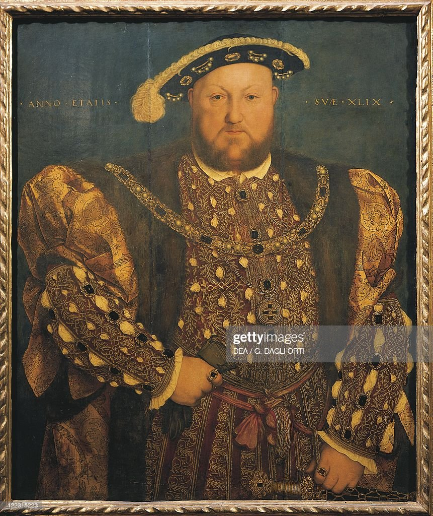 Italy, Rome, Portrait of Henry VIII, King of England  : News Photo