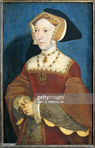 Hans Holbein the Younger Portrait of Jane Seymour Third Wife of Henry VIII of England