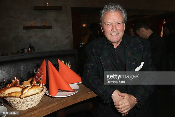 Hans Juergen Baeumler attends the 35 years anniversary of the tv show 'Soko 5113' on January 30 2013 in Munich Germany