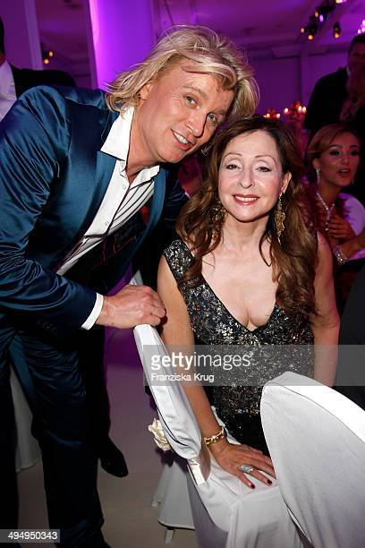 Hans Klok and Vicky Leandros attend the Rosenball 2014 on May 31 2014 in Berlin Germany