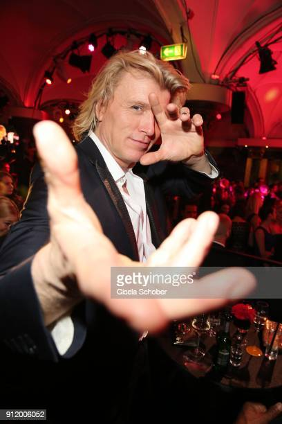 Hans Klok during the 20th Lambertz Monday Night 2018 at Alter Wartesaal on January 29 2018 in Cologne Germany