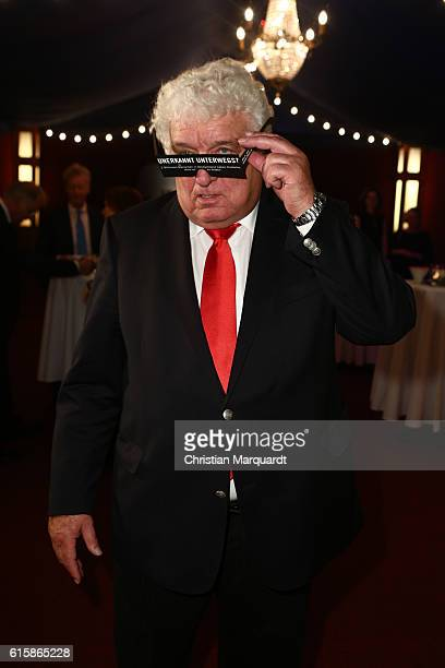 Hans Meiser attends the 6th Diabetes Charity Gala at TIPI am Kanzleramt on October 20 2016 in Berlin Germany