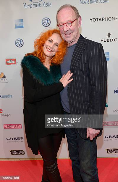 "Hans Peter Korff and Christiane Leuchtmann attend networking event ""Movie meets Media"" at Hotel Atlantic on December 2, 2013 in Hamburg, Germany."