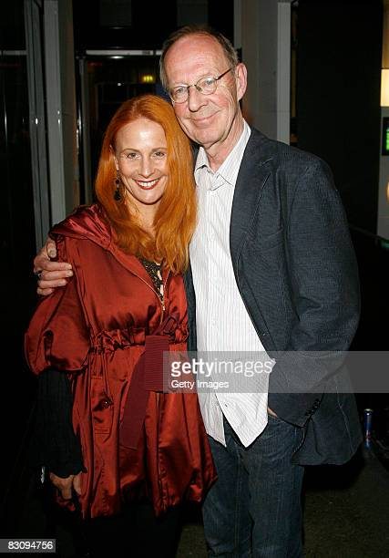 Hans Peter Korff and Christiane Leuchtmann attend the Hamburger Director's Cut on October 2, 2008 in Hamburg, Germany.