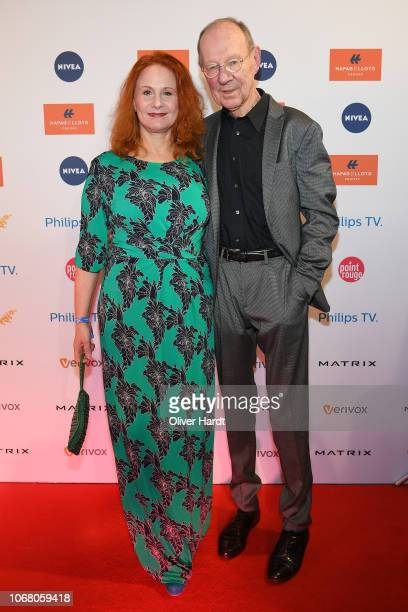 Hans Peter Korff and Christiane Leuchtmann attends the Movie Meets Media night at Grand Elysee Hamburg on December 3, 2018 in Hamburg, Germany.