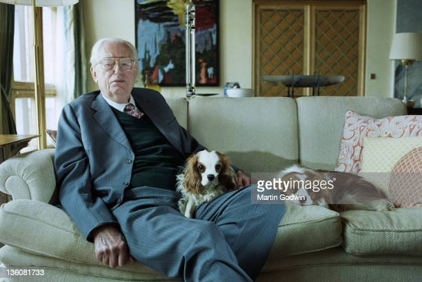 Hans Rausing coinheritor of the Tetra Pak packaging company at his home in East Sussex 21st March 2002