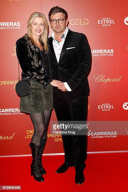 Hans Sigl and his wife Susanne Sigl attend the 22th Annual Jose Carreras Gala on December 14, 2016 in Berlin, Germany.