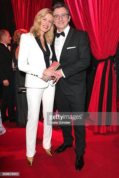 Hans Sigl and his wife Susanne Sigl during the Goldene Kamera 2016 reception on February 6 2016 in Hamburg Germany