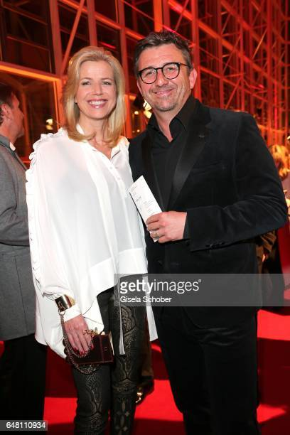 Hans Sigl and his wife Susanne Sigl during the Goldene Kamera reception at Messe Hamburg on March 4, 2017 in Hamburg, Germany.