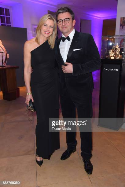 Hans Sigl and his wife Susanne Sigl during the Semper Opera Ball 2017 at Semperoper on February 3, 2017 in Dresden, Germany.