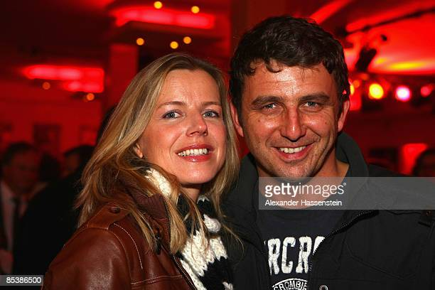 Hans Sigl and Susanne Sigl attend the NdF After Work Party at the 8Seasons Club on March 11 2009 in Munich Germany