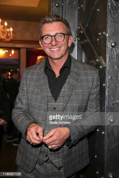 Hans Sigl during the NdF after work press cocktail at Parkcafe on March 13 2019 in Munich Germany