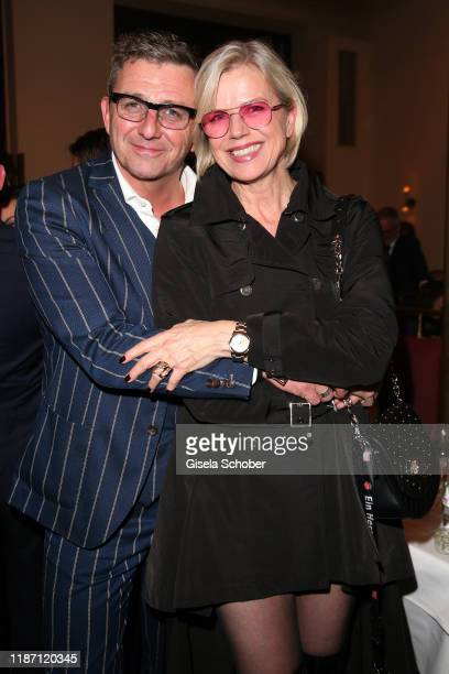 Hans Sigl Susanne Sigl during the after show party for the Ein Herz Fuer Kinder Gala at Borchardt Restaurant on December 7 2019 in Berlin Germany
