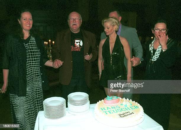 Hans Teuscher Neffe Kay Schaarschmidt dessen Ehefrau Ehefrau Helga Teuscher Name auf Wunsch Party zum 65 Geburtstag von Hans Teuscher Potsdam...