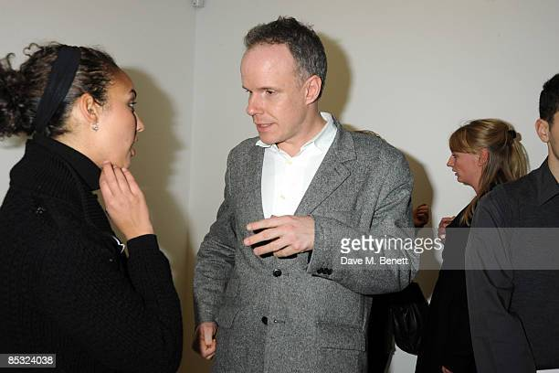 Hans Ulrich Obrist attends the private view of the Rebecca Warren exhibition at the Serpentine Gallery on March 9 2009 in London England