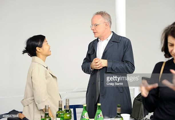 Hans Ulrich Obrist attends the Swiss Institute launch celebration of Hans Ulrich Obrist's new book Ways Of Curating on November 13 2014 in New York...