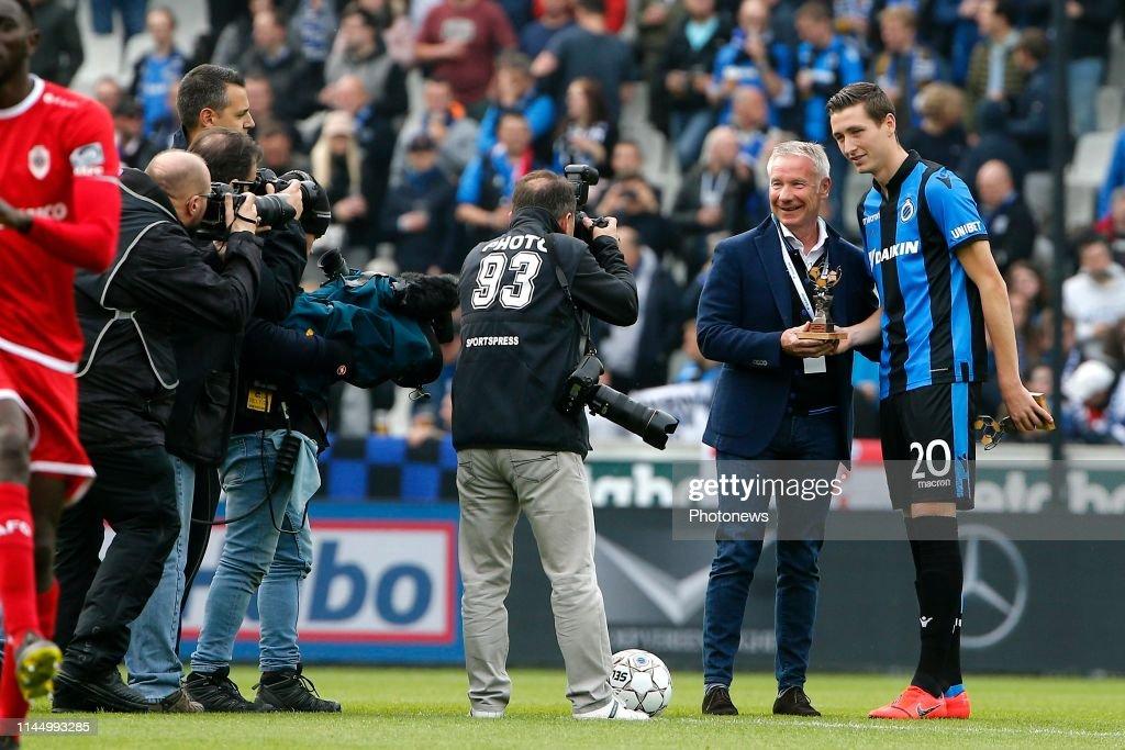 BEL: Club Brugge v Royal Antwerp- Jupiler Pro League: Play-offs