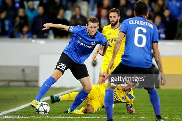 Hans Vanaken midfielder of Club Brugge pictured during the UEFA Champions League Group G stage match between Club Brugge and FC Porto at Jan Breydel...
