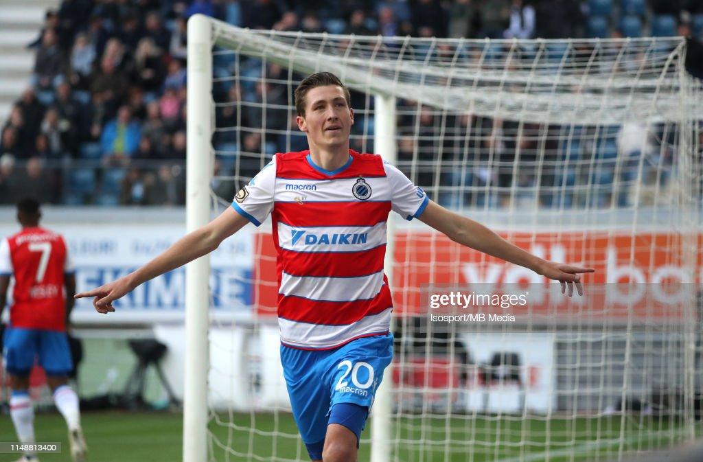KAA Gent v Club Brugge - Jupiler Pro League: Play-offs : News Photo