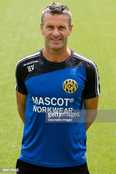 Hans Visser during the Photocall Roda JC at the Parkstad Limburg Stadium on July 12 2018 in Kerkrade Netherlands