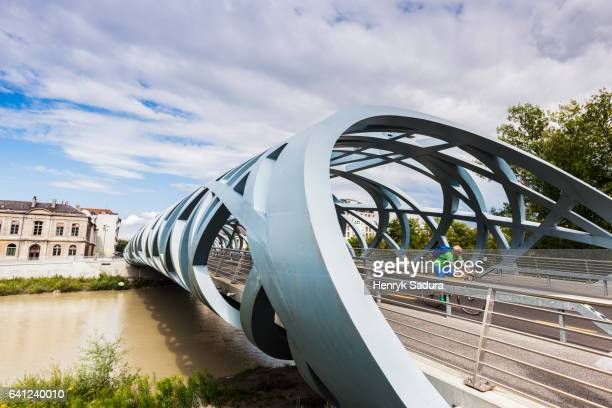 Hans Wilsdorf Bridge in Geneva