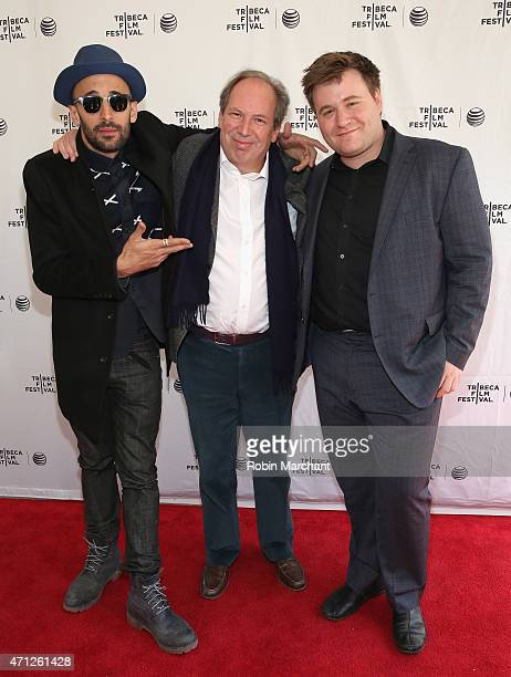 JR Hans Zimmer and Benjamin Wallfisch attend Tribeca Talks After The MovieLes Bosquets during the 2015 Tribeca Film Festival at SVA Theater on April...