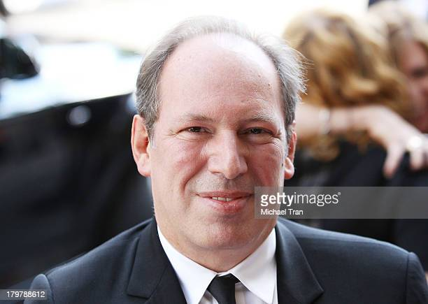 Hans Zimmer arrives at the 12 Years A Slave premiere during the 2013 Toronto International Film Festival held at Princess of Wales Theatre on...