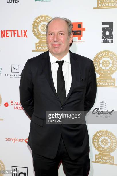 Hans Zimmer attends the 8th Annual Guild of Music Supervisors Awards at The Theatre at Ace Hotel on February 8 2018 in Los Angeles California